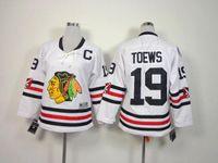 achat en gros de hiver classique jersey womens-Maillots de sport de Chicago Blackhawks d'hiver de 2016 Maillots de basket-ball de jersey de hockey de femmes Ice # 19 Jonathan Toews Maillot blanc827