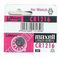 Wholesale Maxell CR1216 Lithium Coin Cell mAh Capacity Watch Battery