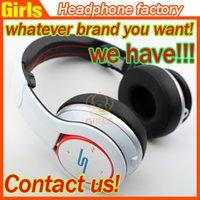 best wireless headphone - Over ear Cent Headphones portable headphones sms audio wireless DJ SL600 wireless headset best gift