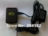 Cheap Factory supply! GPS Tracker TK102 with 1 PC Battery + Car Charger, TK102B, simple packing without gift box and wall charger