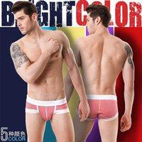 Wholesale Stripe Men s Briefs Cotton Men Underwear U Convex Mens Underwear