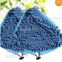 Wholesale Microfiber Coral Washable Steam Cleaner Mop Pad Pads Fits H2O X5