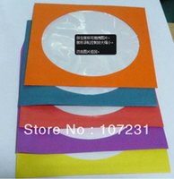aluminum dvd storage case - Colorfull Protective White Paper CD DVD Disc Storage Bag Case Envelopes Flap Suit for cm CD
