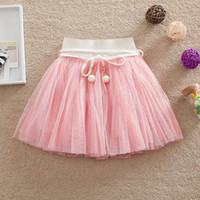 Wholesale New Girl s tutu skirt summer fashion tulle belt Princess party skirts Children Clothing Cute Ballet Costume