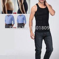 abdomen compression - New Hot Men Rirdle Corset Shaper Slimming Body Tummy Shaper Belly Belly Abdomen Compression Underwear Sport Vest