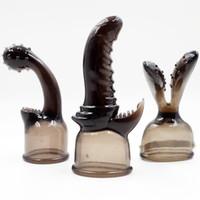 Wholesale 6pcs AV Magic Wand G Spot Stimulating AV Headgears Sex Toys AV Massager Head Body Massager Adult Products