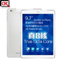 Wholesale Cube Talk X U65GT Octa Core MTK8392 G Tablet PC inch Retina IPS x1536 GB RAM Android WCDMA GPS mAh Battery