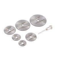 Wholesale HSS Rotary Blades Tool Cutting Discs Mandrel For Dremel Cutoff Circular Saw Jewelry Tools amp Equipments