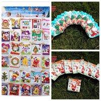 Precio de Tarjetas de navidad baratos-5 * 6cm 2.016 creativo Pequeño plegables saludo Deseos Tarjetas de Navidad Tarjetas de Navidad Sobre ornamento de navidad Navidad Proveedores baratos