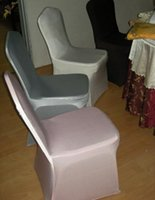 Wholesale High Quality Shine Nylon Fabric Spandex Banquet Chair Cover
