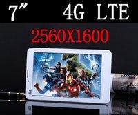 Octa Core 6 pouces Tablet PC 4G LTE Android 5.0 téléphone mobile 3G Sim Card slot Caméra 4 Go de RAM 13.0MP IPS 2560x1600 pcs 89 10