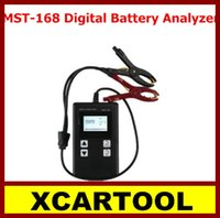 automotive battery charging - New arrival XCARTOOL Powerful MST Portable V Digital Battery Analyzer MST Auto Car Battery Tester Charge Tester Free Shippi