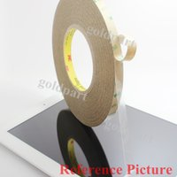 Wholesale x mm M M LE LSE Sides Strong Sticky Tape for Cellphone iPad Pad Samsung Iphone LCD Screen Frame Touch Panel Joint