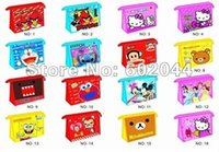 Wholesale EMS Fashion Wallet phone package Paper bags Makeup Bag W