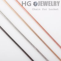 Cheap 2015 NEW ARRIVAL10pcs lot Free Shipping Fashion Metal Diy Snake Chain Necklace For Floating Charm Lockets With Lobster Clasps