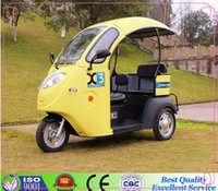 Wholesale 2015 hot sale handicapped electric tricycle semi closed V W3 wheel motorcycle motorcycles