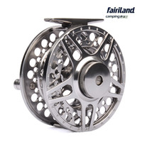 arbor metals - 2BB RB METAL fly fishing reel LARGE ARBOR designed w INCOMING CLICK PRECISION MACHINED from BAR STOCK ALUMINUM