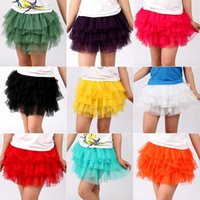 accordion pleated skirt - Girls tutu skirts baby rara skirt ball gown miniskirt accordion pleated skirt gift V15042902