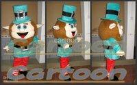 XL adult leprechaun costume - Factory Outlets Hot Sale new Leprechaun funny man Halloween Fancy Dress Cartoon Adult Animal Mascot Costume