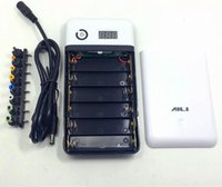 Wholesale 3 V V V V V V V V V output mobile notebook power bank box battery case section universal treasure to DIY
