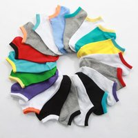 bamboo socks black - Colors Men Socks Classic Male Brief BAMBOO Cotton Invisible Man Sock Slippers Shallow Mouth no showSock