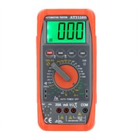 automotive tachometer - Professional HD AT2150B Automotive Meter Tester Digital Multimeter Tachometer Cap Temp Tester Sensor w LCD Backlight
