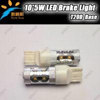 Wholesale super brightness High power LED brake light T20D W car taillight Osram chips sides lighting DC12 V