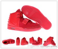 Cheap Nike Air Yeezy 2 Red October Basketball Shoes Kanye West Fashion Shoes Men Women Yeezy Sneakers Free Shipping