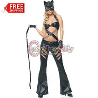 adult superhero costumes - Adult Women Sexy Catwomen Costume Bodysuitc zentai superhero Cosplay Costume Erotic catsuit Fancy Costume For Halloween Carnival