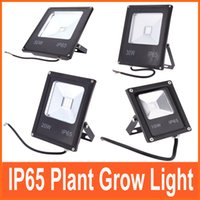Wholesale 10W W W W Plant Grow Light Hydroponic Lamp Water resistant Ultrathin LED Flood Light for Outdoor Indoor Flower Fruit