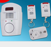 Wholesale 2015 Hot Wireless IR Infrared Motion Sensor Alarm Security Detector sets