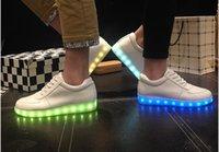 Wholesale 2015 New Fashion Hot Selling Emitting Luminous Casual Shoe Men Couple LED Sneakers USB Charging Lights shoes