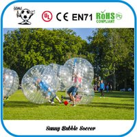Cheap Wholesale-Free Shipping 1.5M TPU Popualr Sports Product Bubble Soccer,Inflatable Human Hamster Ball,Bubble Football,Zorb Ball, Bumper Ball