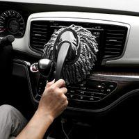 Wholesale Portable Mini Short Handle Nano Fiber Vehicle Car Brushes Wax Mop Cleaning Drag