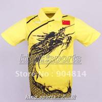 Wholesale Li Ning Man s London Olympic Games T Shirt Chinese national flag Ping Pong shirt