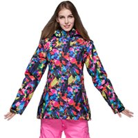 Wholesale GSOU SNOW Ladies Snowboard Jacket Women s Ski Jackets and Coat Waterproof Windproof Winter Jacket
