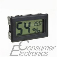 Wholesale 1pc Digital LCD Hygrometer Temperature Humidity Meter Thermometer C RH