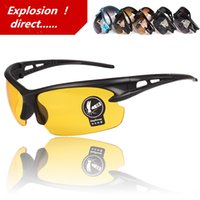 Wholesale Factory direct sales the driver driving night vision goggles Detonation Sunglasses sports glasses Riding glasses Many styles