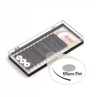 apply synthetic hair - New Arrival Ellipse Flat Eyelashes False Eye Lashes Soft and Durable And Easy To Apply