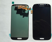 Wholesale For Samsung Galaxy S5 i9600 G900A G900F LCD Screen Touch Digitizer Display Full Assembly with Home Button Flex Tested DHL Free
