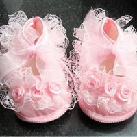 New Cute Non-Slip Shoes Baby Toddler Shoes Lace 2Colors First Walkers