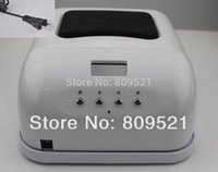 Wholesale Free PP W v v white ccfl led EU plug US plug Nail Art Uv Gel Curing Lamp Dryer Salon Nail TIMER SPA H3 white black