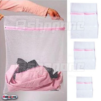 Wholesale 30xFashion New Zipped Mesh Washing Bags Laundry Bags for lingerie Clothes