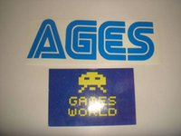 age live - High quality decal personalized custom Vinyl Sticker ages