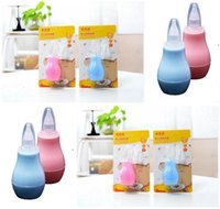 Wholesale Baby Manual Nasal Aspirator Infant Absorption Device Sniffing the Bop Countercurrent Pump Nose Cold Nose Cleaner