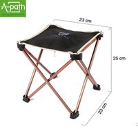 aluminium outdoor furniture - new outdoor barbecue travel camping portable aluminium alloy folding picnic chair outdoor garden furniture fishing chair