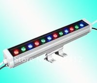 ac local - led high power wall washer w AC85 V IP65 RGB changing easily installing with local place voltage