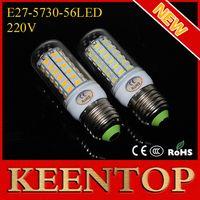 Wholesale Energy efficient E27 SMD Cree V Led lights Leds Max18W Corn Solar Bulbs Ceiling Lamps Candle Soptlight