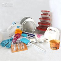 baking in america - Popular in Europe and America Novice Quality Baking Tool Set Cake Molds Bakeware Sets with mb