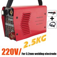 Wholesale Welding tools mm electrode Special welder V V MINI A Inverter DC IGBT Welding machine welding equipment welding machinery